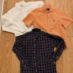 Youth Ralph Lauren dress shirts